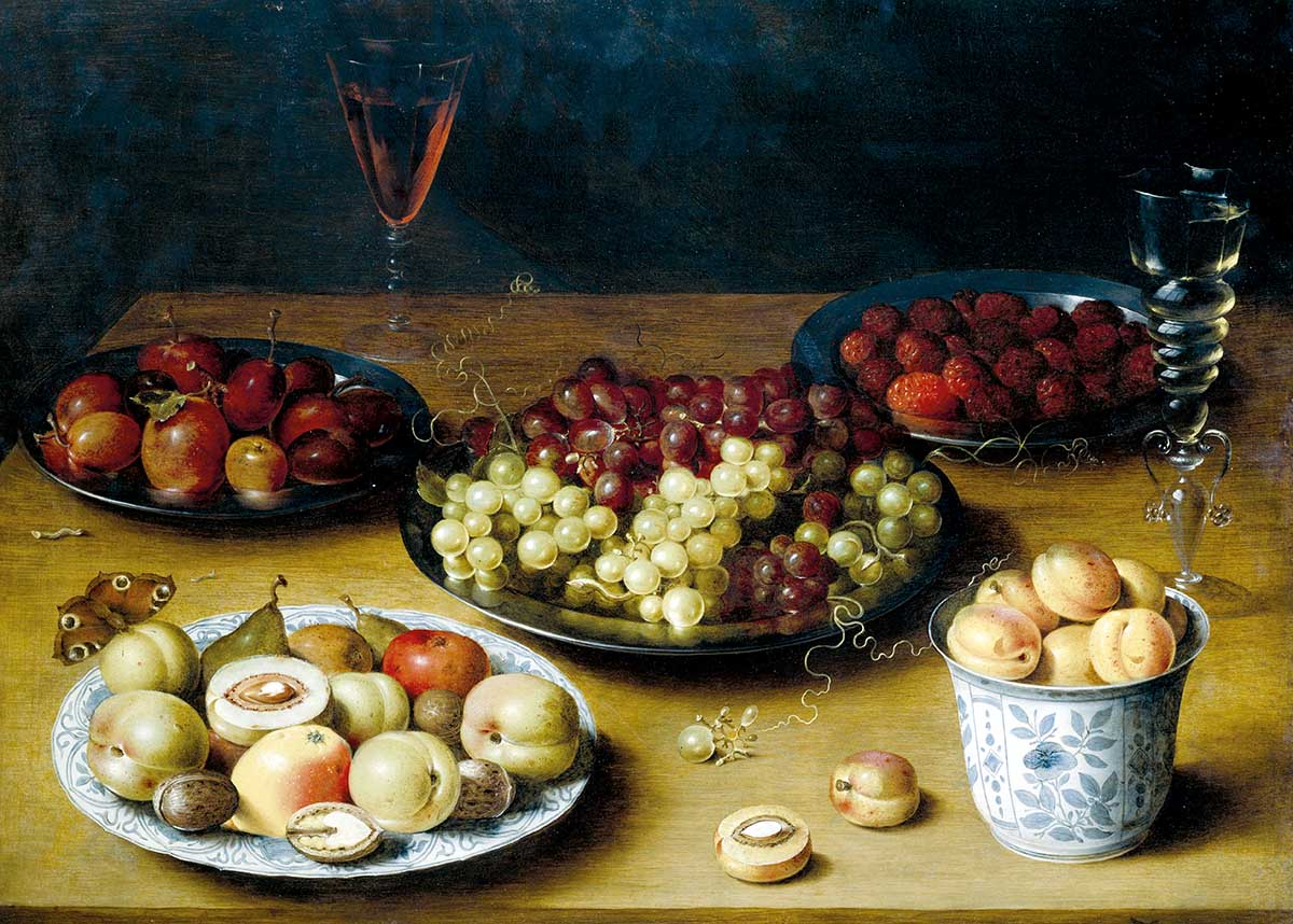 Still Life with Fruit, by Osias Beert, c.1600 © Getty Images.