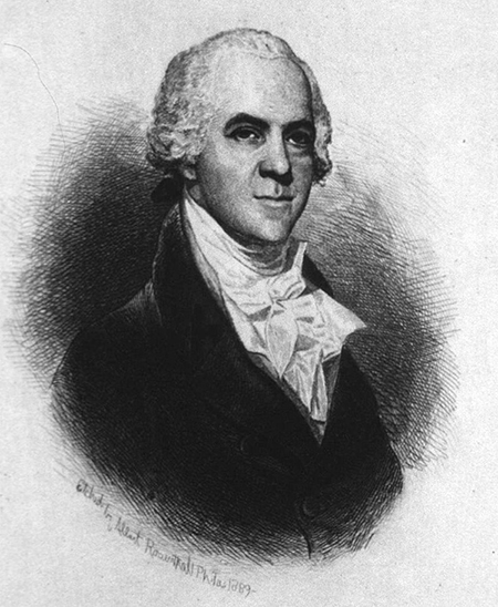 George Logan, senator for Pennsylvania and namesake of the Logan Act, by Albert Rosenthal.