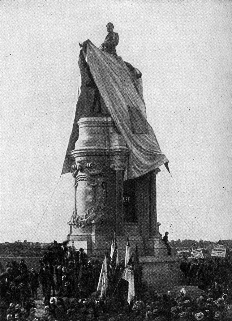 Unveiling of the Equestrian Statue of Robert E. Lee, 29 May 1890, Richmond, Virginia.