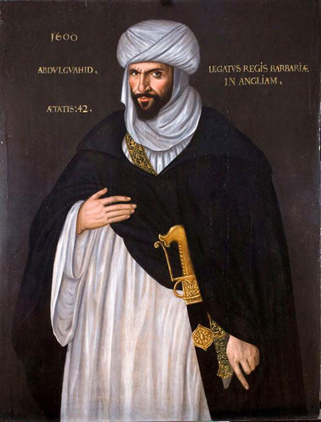 Islamic ambassador: Abd-el-Ouahad ben Messaoud ben Mohammed Anoun. Courtesy Wikimedia/Creative Commons University of Birmingham