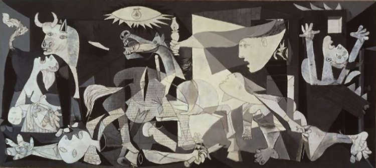 Guernica by Pablo Picasso (1937).