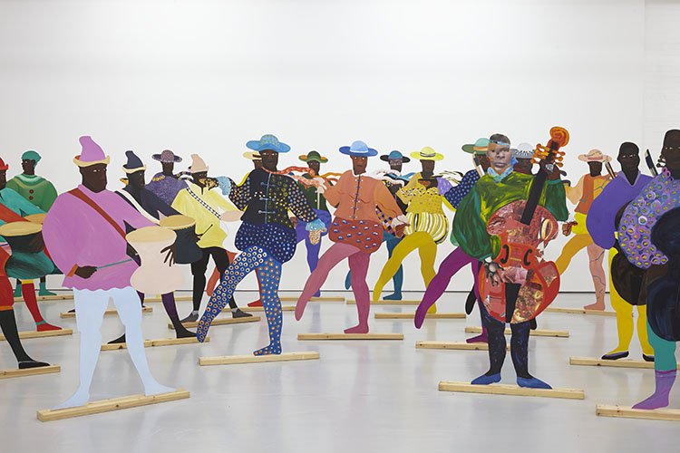 Courtesy the artist, Hollybush Gardens and National Museums, Liverpool/International Slavery Museum. Installation view at Spike Island, Bristol. Photography Stuart Whipps