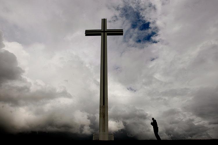 The Papal Cross in Phoenix Park, Dublin, Ireland
