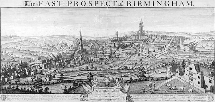 Birmingham in 1732