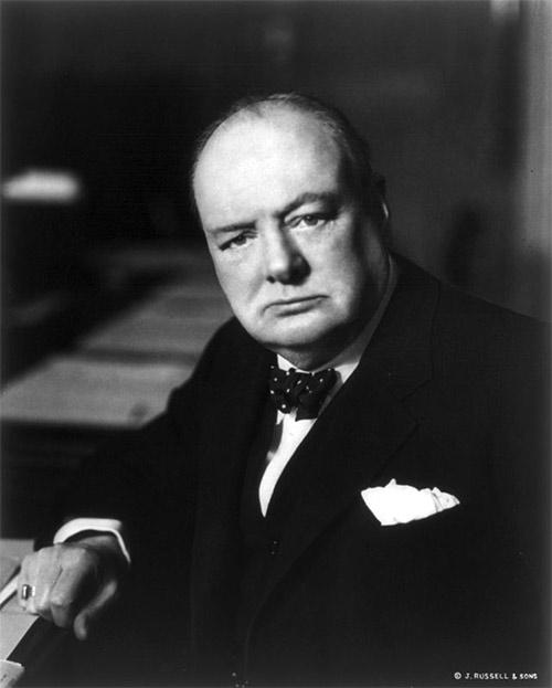 Churchill in 1941