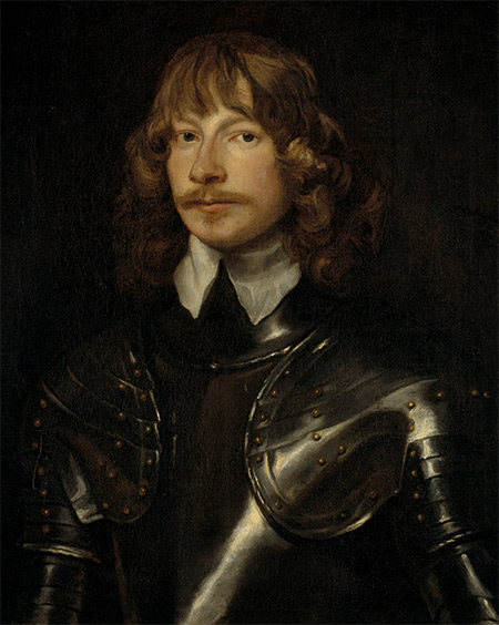 James Graham, 1st Marquis of Montrose, by William Dobson, c.1636