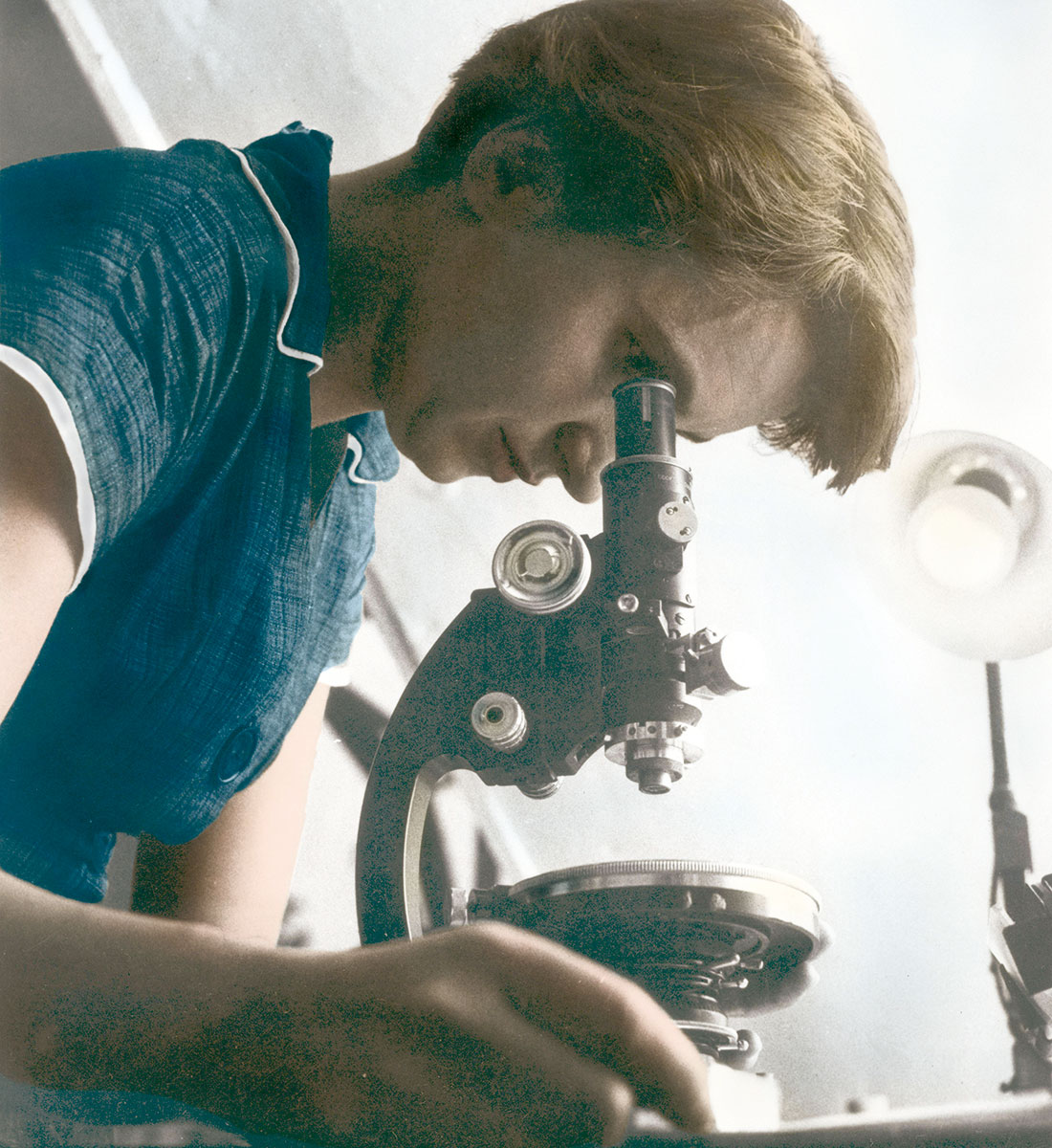 A life examined: Rosalind Franklin, c.1950.