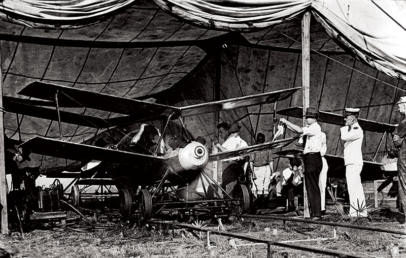 'Much like a diving falcon': the prototype Kettering Bug, c.1918.