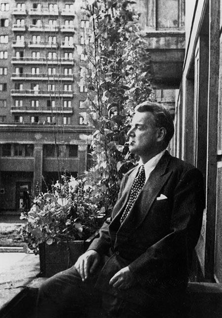 Double agent: Guy Burgess in Moscow, April 1962.