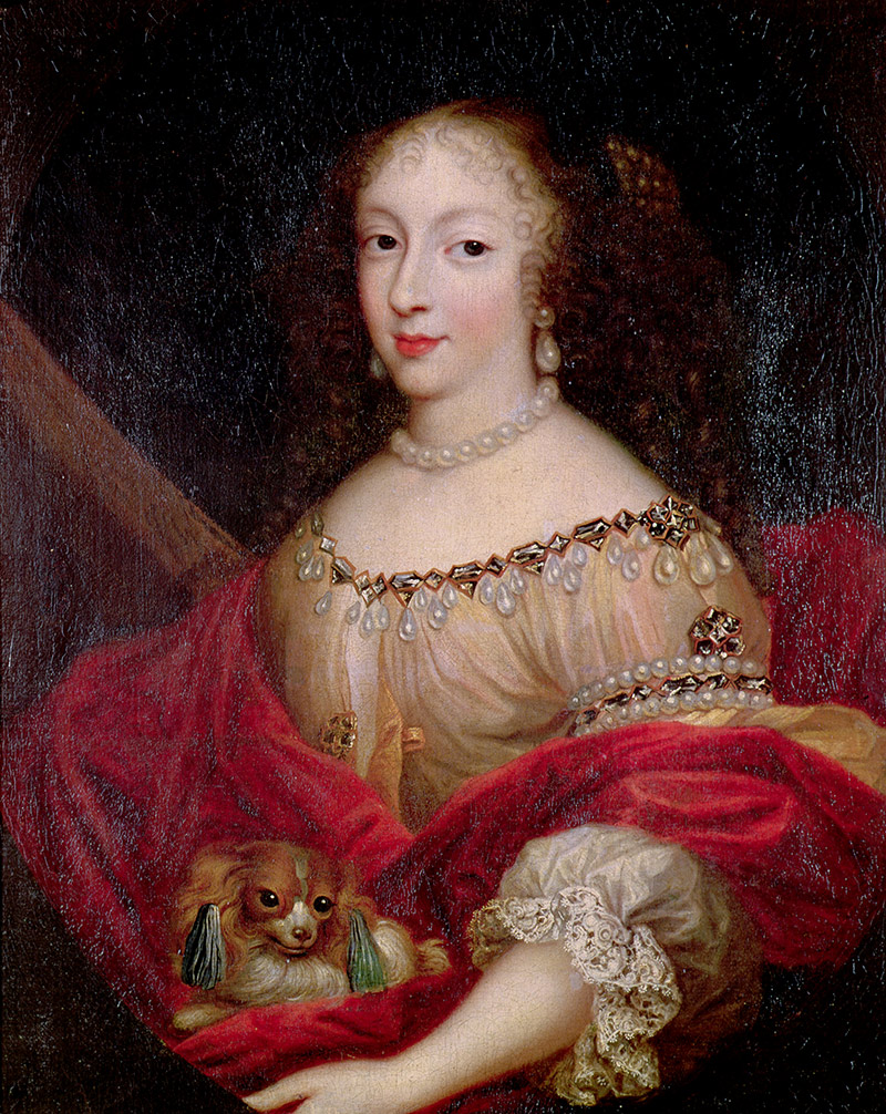 Poisoned? Henriette portrayed by Pierre Mignard, 17th century,