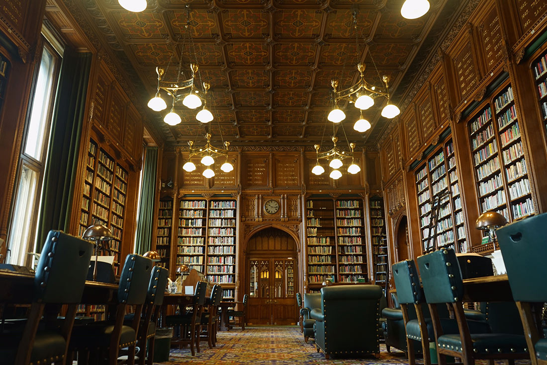 The 'C Room' in the Members' Library.