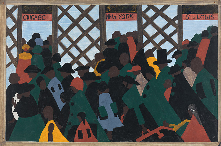 Jacob Lawrence, Migration Series, 1940-41