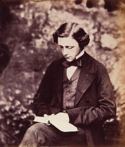 Lewis Carroll self-portrait circa 1856
