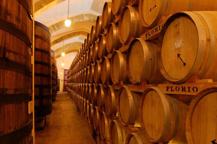 Wine cellars at Cantine Florio, Marsala, Sicily (c) Gian Luigi Perrella