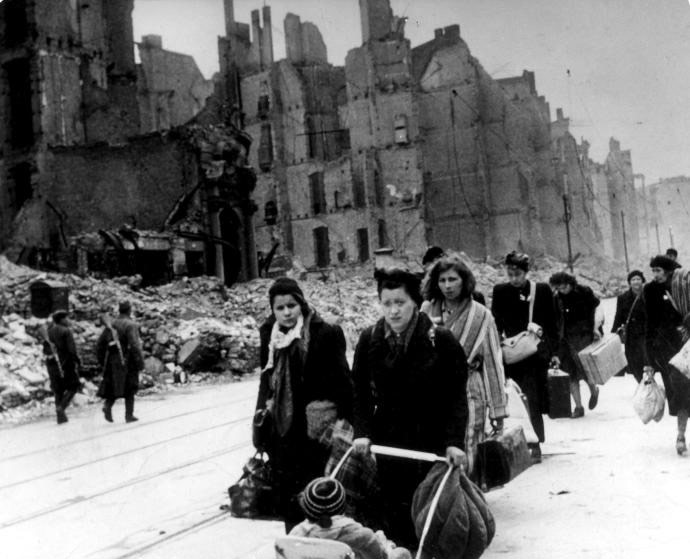 Refugees in 1945