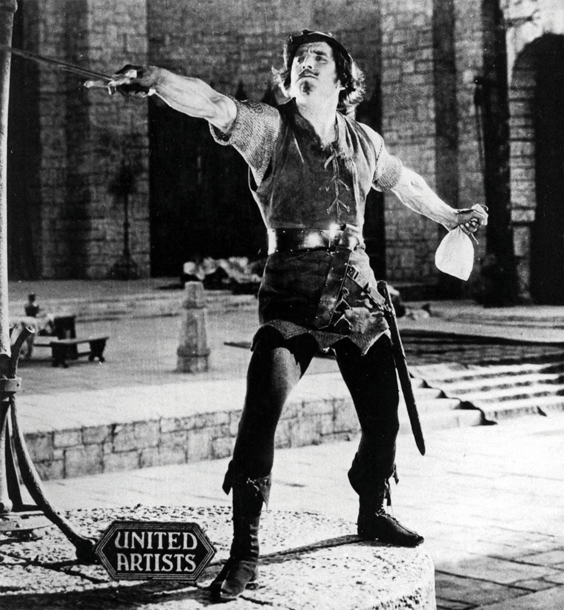 Buckled and swashed: Douglas Fairbanks as Robin Hood, 1922.