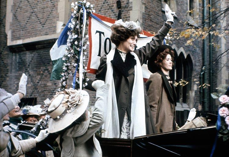 'Shoulder to Shoulder': Siân Phillips plays Emmeline Pankhurst in the BBC drama