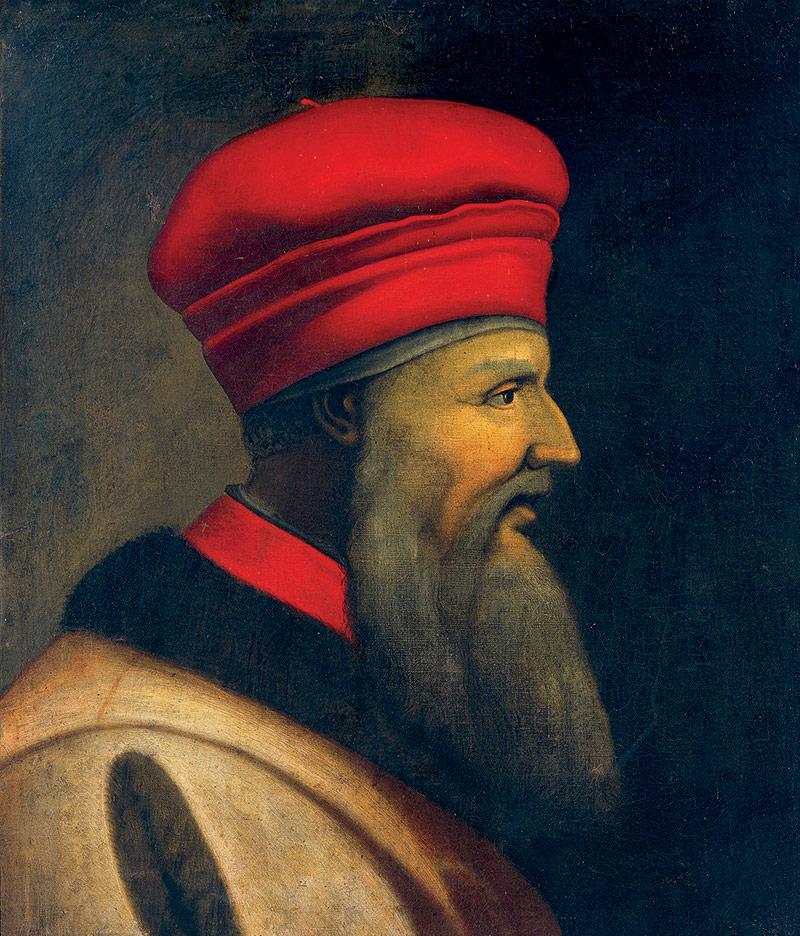 Eminent Albanian Portrait Of Skanderbeg By Antonio Maria Crespi Il Bustino C
