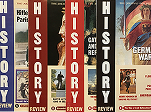 History Review covers.