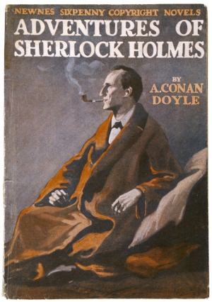 Early edition of the Adventures of Sherlock Holmes