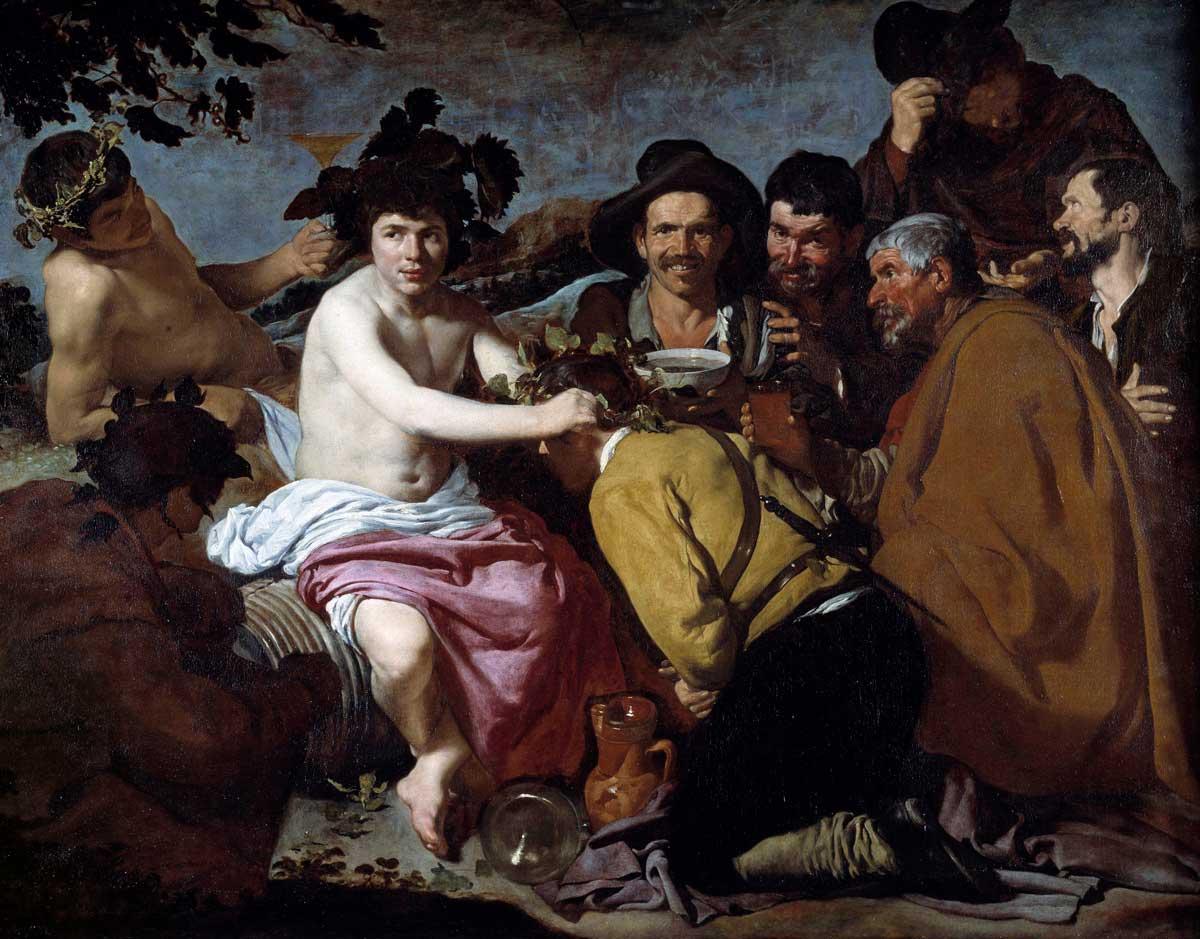 The Triumph of Bacchus (Dionysus), c.1628, by Diego Velázquez © Photo Josse/Bridgeman Images.
