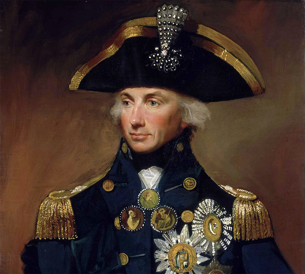 Vice Admiral Horatio Lord Nelson By Lemuel Francis Abbott