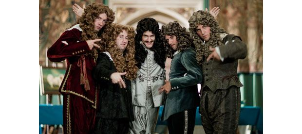 A scene from Horrible Histories (BBC)
