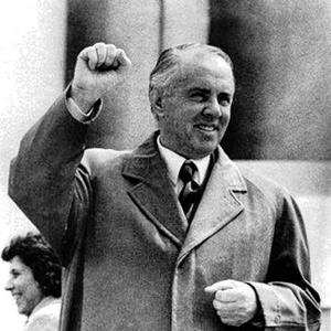 Hoxha in 1971