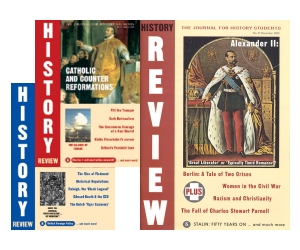 History Review Back Issues