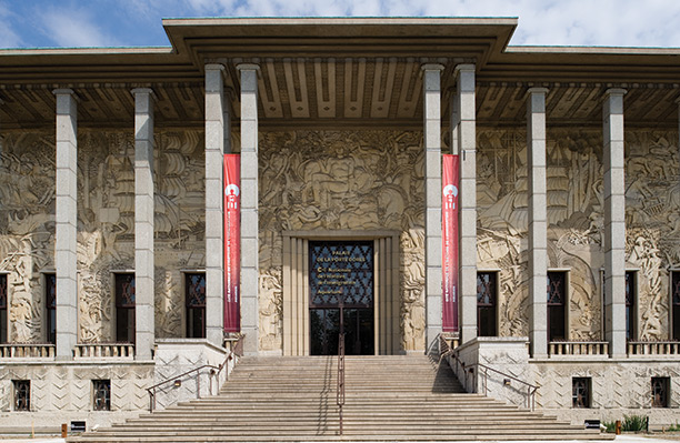 Albert Laprade's pavilion, designed for the 1931 Colonial Exhibition, houses the National Museum on the History of Immigration in Paris.