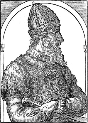 A contemporary illustration of Ivan III
