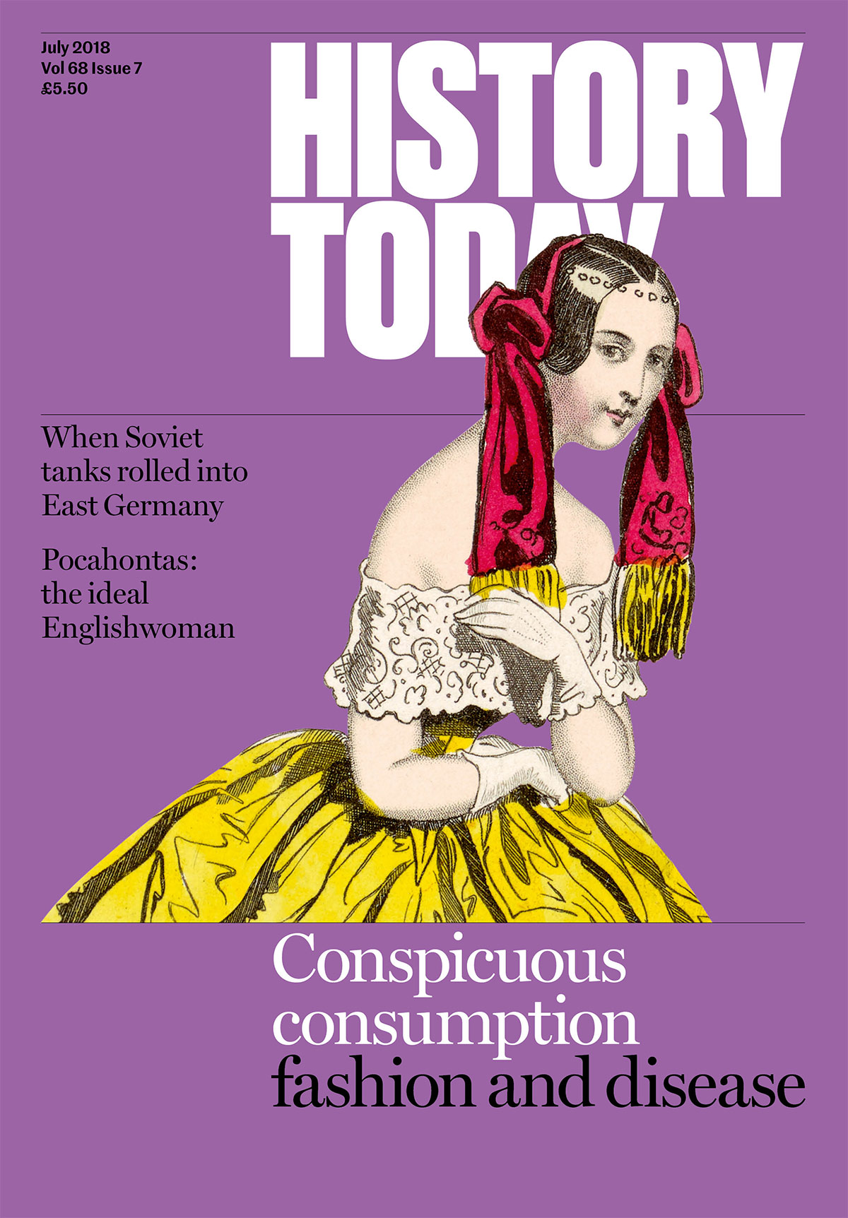Cover of the July issue