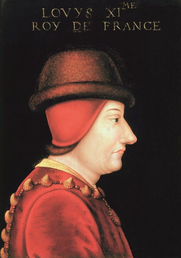 Louis XI in an anonymous portrait, 1470. AKG Images/Musee d'Art et d'Histoire