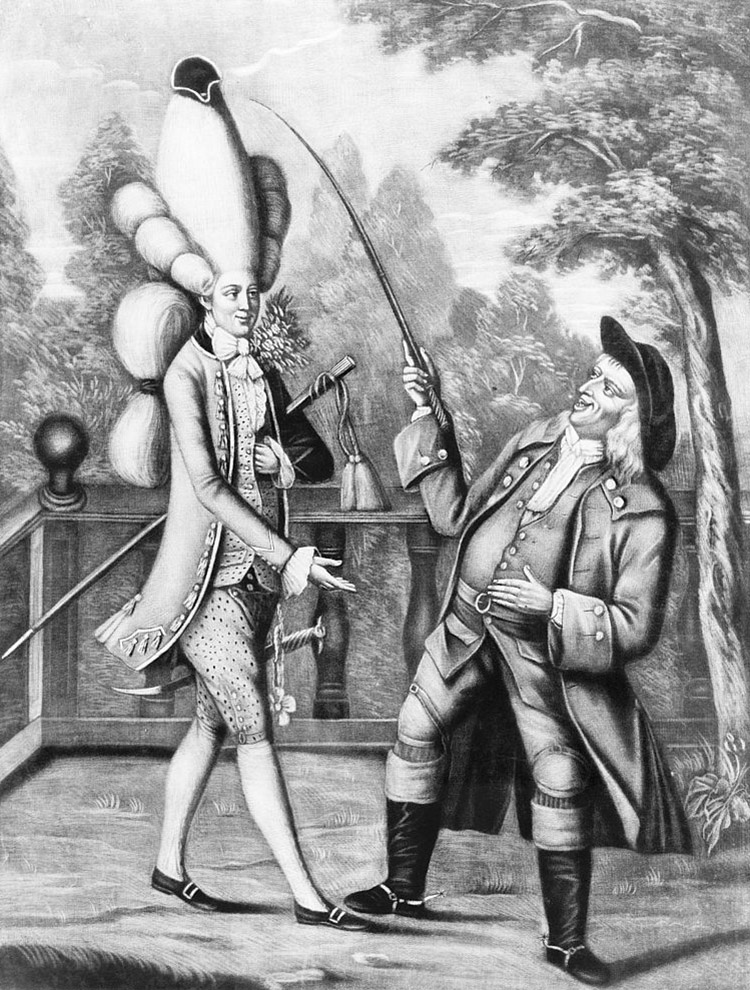 'What! Is this my son Tom?', 24 June 1774.