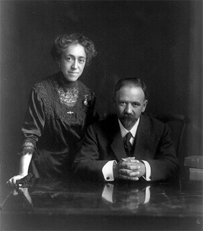 Francisco Madero and his wife, Sara Pérez