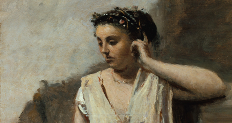 Corot's Muse