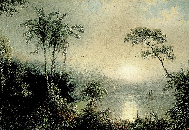 Sunrise in Nicaragua, Martin Johnson Heade, 1869.