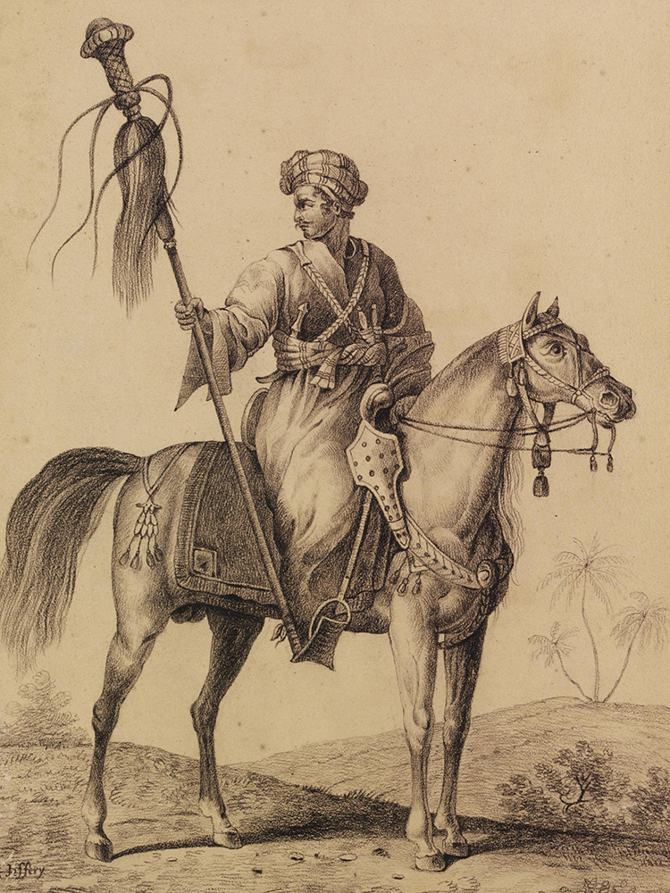 A mamluk by Carle Vernet, 1822.