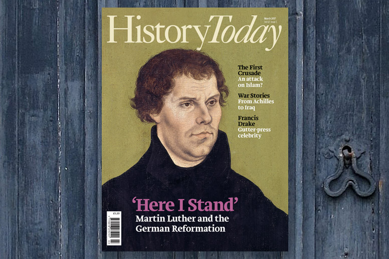Image of the March issue front cover