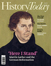 Front cover of the March 2017 issue