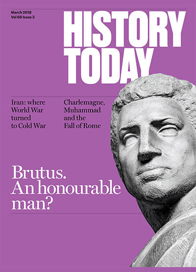 Cover of the March issue of History Today