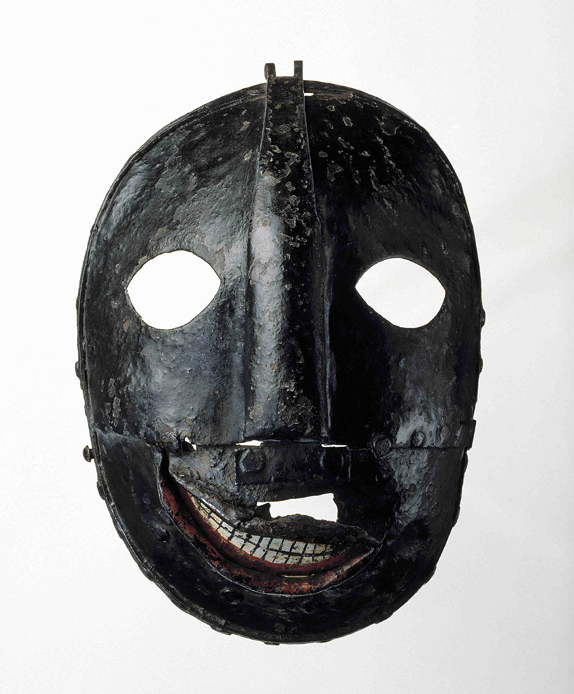 The Tower of London's 'executioner's mask'.