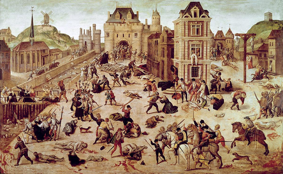 St Bartholomew's Day Massacre, François Dubois, c.1572-84.