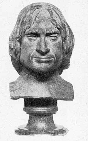 Lorenzo the Magnificent: bronze bust, presumably after a death-mask