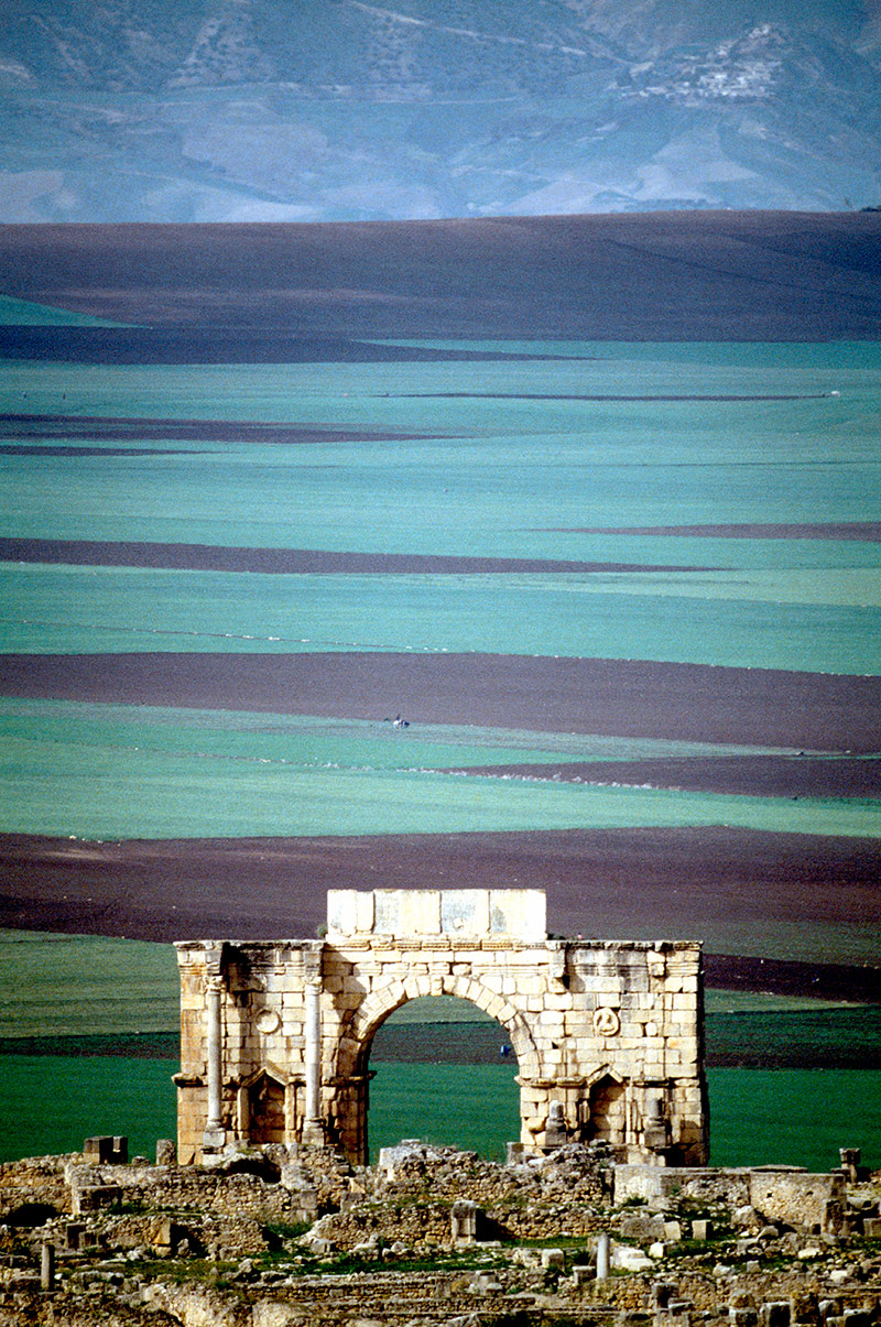Arch of Caracalla (AD 217), Volubilis.