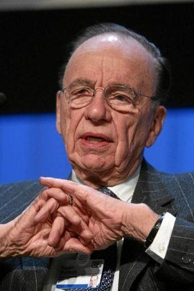 Rupert Murdoch at the World Economic Forum Annual Meeting Davos 2007.