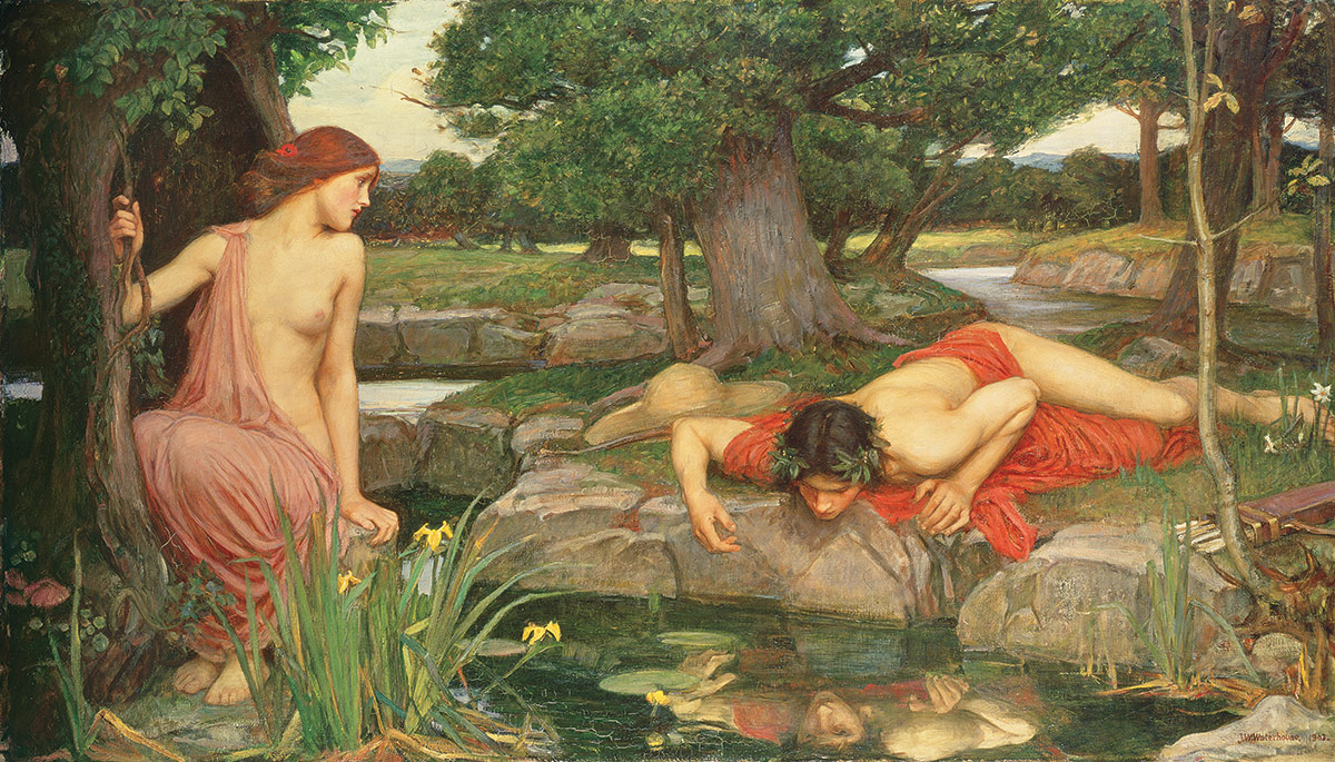 Echo and Narcissus, John William Waterhouse, 1903.