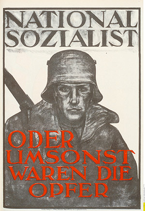 An election poster for the National Socialists, 1928. AKG Images/Archive Gerstenberg