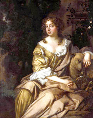 Portrait of Nell Gwyn (1650-1687) by Peter Lely, circa 1675
