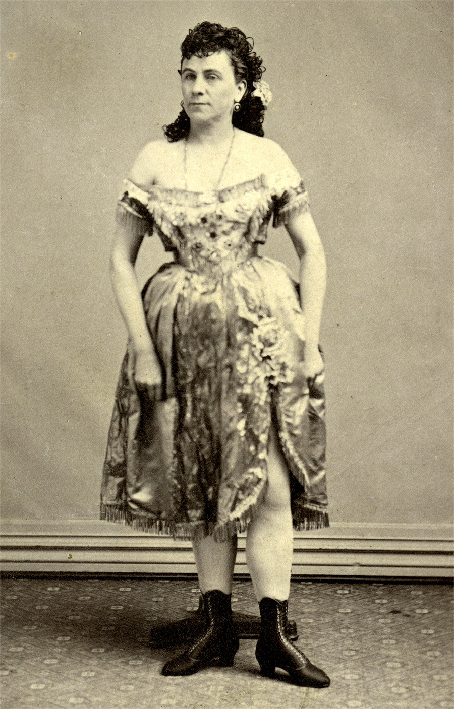 Fanny Hanks, Virginia City, 1866.